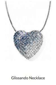 Blue Glissando Necklace