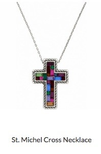 St. Michel Cross Necklace