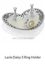 Lacie Daisy 3 Ring Holder