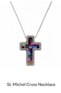 St. Michel Cross Necklace