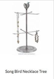 Song Bird Necklace Tree