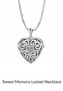 Sweet Memory Locket Necklace