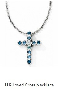U R Loved Cross Necklace