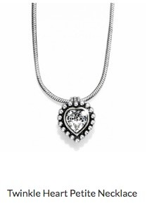 Twinkle Heart Petite Necklace