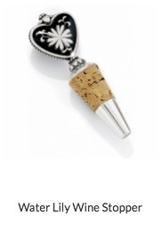 Water Lily Wine Stopper