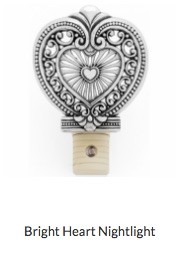 Bright Heart Nightlight