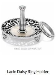 Lacie Daisy Ring Holder