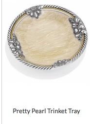 Pretty Pearl Trinket Tray