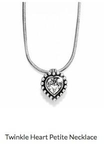 Twinkle Heart Petite Necklace