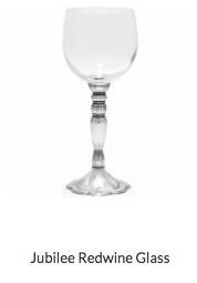 Jubilee Red Wine Glass