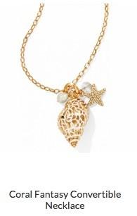 Coral Fantasy Convertible Necklace