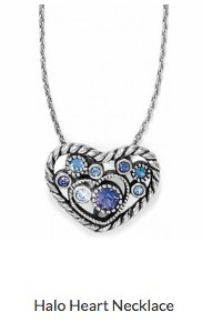 Halo Heart Necklace