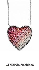 Pink Glissando Necklace